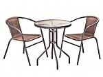 סט שולחן+שני כיסאות