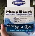 אקווה דיל - ערכה למייצבי מים - Seachem Headstart