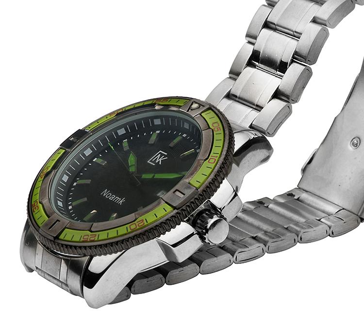 שעון ירוק לגבר