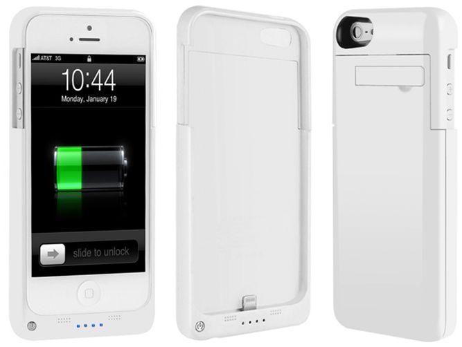 מדהים מגן מטען לאייפון 5S | כיסוי עם סוללה לאייפון 5S | מגן לאייפון 5S PW-78